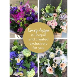 LARGE FLORIST CHOICE HAND-TIED, LARGE FLORIST CHOICE HAND-TIED