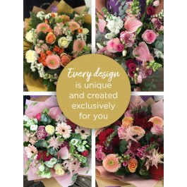 EXTRA LARGE FLORIST CHOICE HAND-TIED, EXTRA LARGE FLORIST CHOICE HAND-TIED