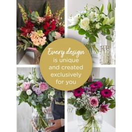 FLORIST CHOICE WITH VASE, FLORIST CHOICE WITH VASE
