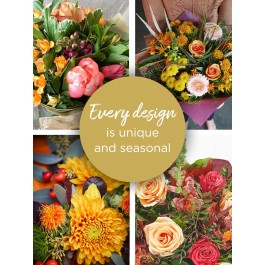 AUTUMN LILY FREE FLORIST CHOICE HAND-TIED, AUTUMN LILY FREE FLORIST CHOICE HAND-TIED