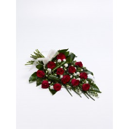 Simple Rose Sheaf - Red, GI#500442 Simple Rose Sheaf - Red