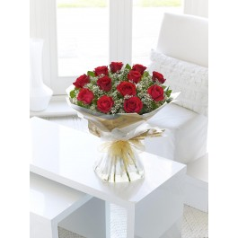 Heavenly Red Rose Hand Tied, GI#500542 Heavenly Red Rose Hand Tied