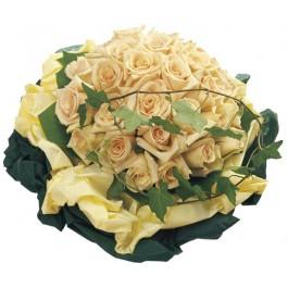 Ramo de rosas blancas, GR#16211 Ramo de rosas blancas