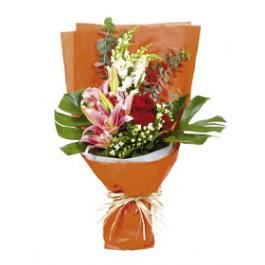 Ramo de flores de temporada, HK#2312 Ramo de flores de temporada
