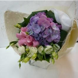 Bouquet Cut Flowers pastel colours, Bouquet Cut Flowers pastel colours