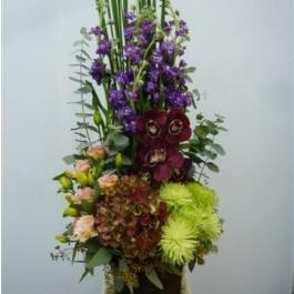Arrangement of Cut Flowers multicoloured, Arrangement of Cut Flowers multicoloured