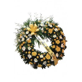 Corona fúnebre, ID#2005 Corona fúnebre