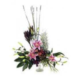 Arreglo alto de flores cortadas, IL#515 Arreglo alto de flores cortadas
