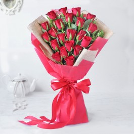 Majestic Red Rose Bouquet, Majestic Red Rose Bouquet