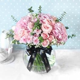 Pink Extravaganza Flower Arrangement, Pink Extravaganza Flower Arrangement
