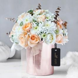 Elite Sheen Floral Vase Arrangement, Elite Sheen Floral Vase Arrangement
