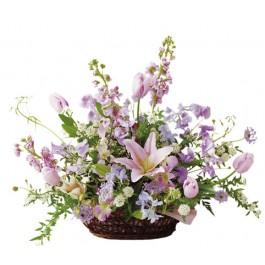 Arreglo floral en rosa, JP#FTD2112 Arreglo floral en rosa