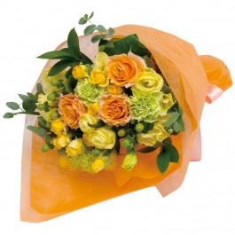 Bouquet in yellow and orange, Bouquet in yellow and orange