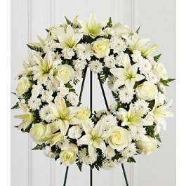 S3-4442 The FTD® Treasured Tribute™ Wreath, S3-4442 The FTD® Treasured Tribute™ Wreath