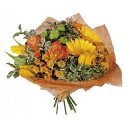 """Bouquet """"Orange Mood"""", KZ#3302 Bouquet"""