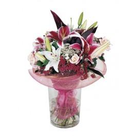 Ramo de flores variadas, LB#1401 Ramo de flores variadas