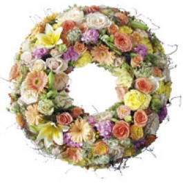 Corona fúnebre, LI#3809 Corona fúnebre
