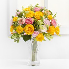 Delicate Bouquet in Yellow Colors, Delicate Bouquet in Yellow Colors