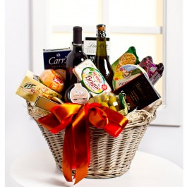 Luxurious Gourmet Gift Basket, LT#EE902 Luxurious Gourmet Gift Basket