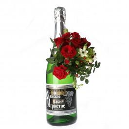 Arrangement on sparkling wine, LT#EE906 Arrangement on sparkling wine