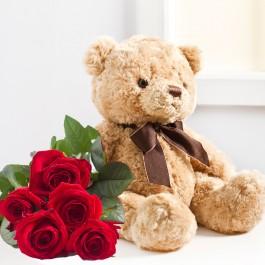 7 rosas y un osito, LV#582 7 rosas y un osito