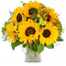 Bouquet with sunflowers, Bouquet with sunflowers