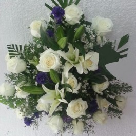 Funeral spray/arrangement, Funeral spray/arrangement