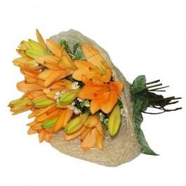 Bunch of Lilies - Orange, Bunch of Lilies - Orange