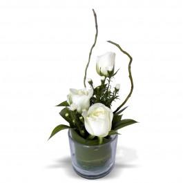Three Rose Glass White, Three Rose Glass White