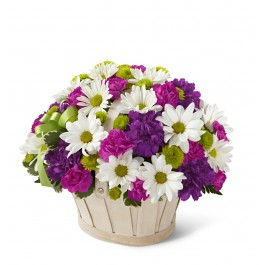 Blooming Bounty Bouquet - Basket included, MX#C17-4329.Blooming Bounty Bouquet - Basket included