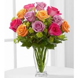 El Ramo de Rosas de FTD® Encanto de Pureza™ , El Ramo de Rosas de FTD® Encanto de Pureza™