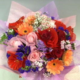 Mixed Cut Flowers Bouquet, Mixed Cut Flowers Bouquet