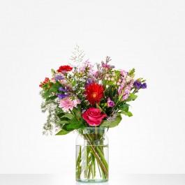 Bouquet: Happy birthday; excl. vase, Bouquet: Happy birthday; excl. vase