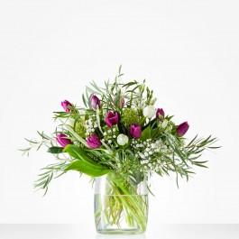 Bouquet: Winter tulips; excl. vase, Bouquet: Winter tulips; excl. vase