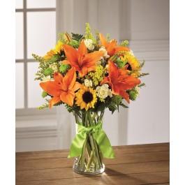 Send Sunlight Lily Bouquet, Send Sunlight Lily Bouquet