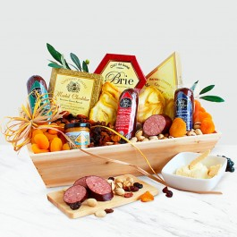 Deluxe Meat & Cheese Gift, Deluxe Meat & Cheese Gift