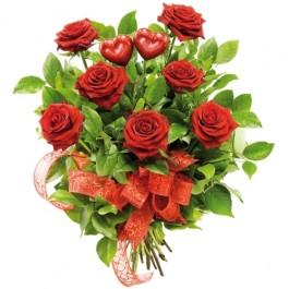 Kwiaty dwa serca, PL#7309 Kwiaty dwa serca