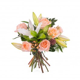 Arrangement of Roses and Lilies, Arrangement of Roses and Lilies