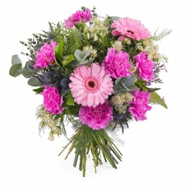 Bouquet of carnations and gerbera daisies, Bouquet of carnations and gerbera daisies