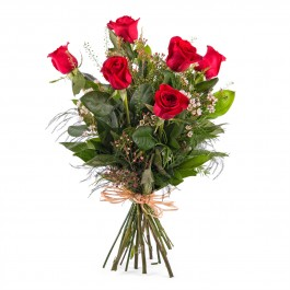 6 Long-stemmed Red Roses, 6 Long-stemmed Red Roses