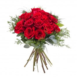 15 Short-stemmed Red Roses, 15 Short-stemmed Red Roses