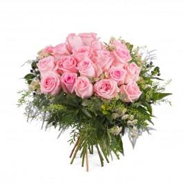 20 Short-stemmed Pink Roses, 20 Short-stemmed Pink Roses
