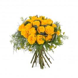 20 Short-stemmed Yellow Roses, 20 Short-stemmed Yellow Roses