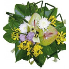 Ramo de flores variadas, SA#3406 Ramo de flores variadas