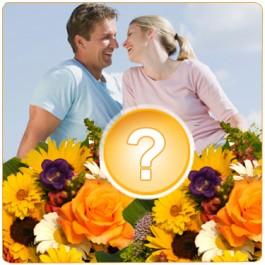 Ramo de flor abigarrado, SA#MCFSA257 Ramo de flor abigarrado