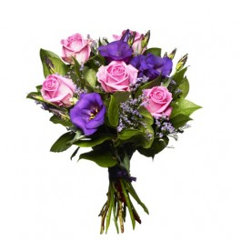 Bouquet Pink and Purple Love, SE#1201006 Bouquet Pink and Purple Love