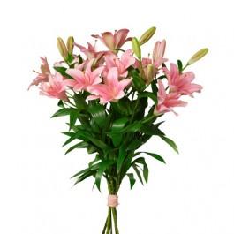 Ramo de rosas lirios, SE#1201192 Ramo de rosas lirios