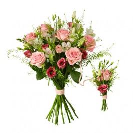 Babybirth bouquet pink, Babybirth bouquet pink