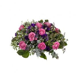 Funeral arrangement, Rosa-Lila, Funeral arrangement, Rosa-Lila