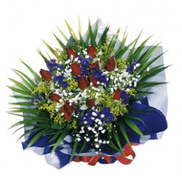 Ramo de flores de temporada (12 rosas), SG#2603 Ramo de flores de temporada (12 rosas)